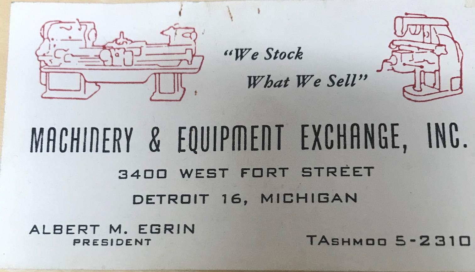 Broaching Machine Specialities History